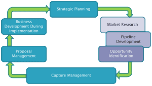 Blueprint for Winning Government Contracts chart