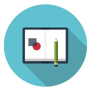 Book and pencil icon representing BD, capture, and proposal skill gaps.
